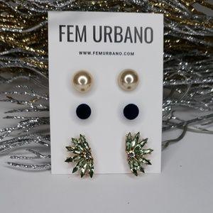 Studs Earring Set